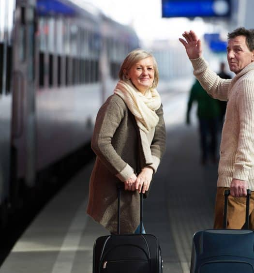 senior travel how to pack light