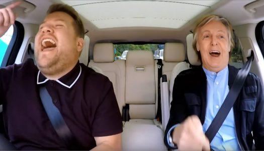 We Can't Wait for the Unseen Footage from Paul McCartney's Carpool Karaoke Episode!