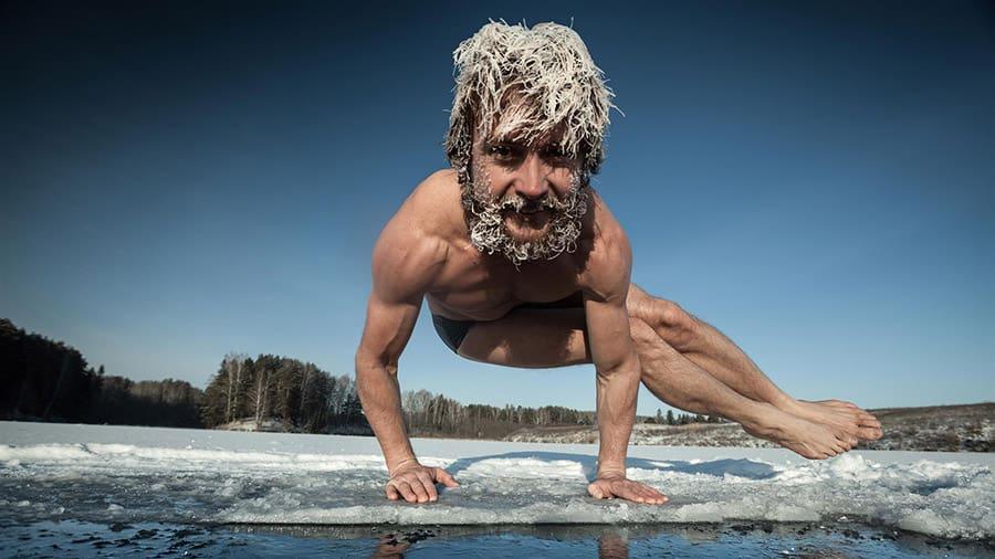 Yoga trends - Cold Yoga