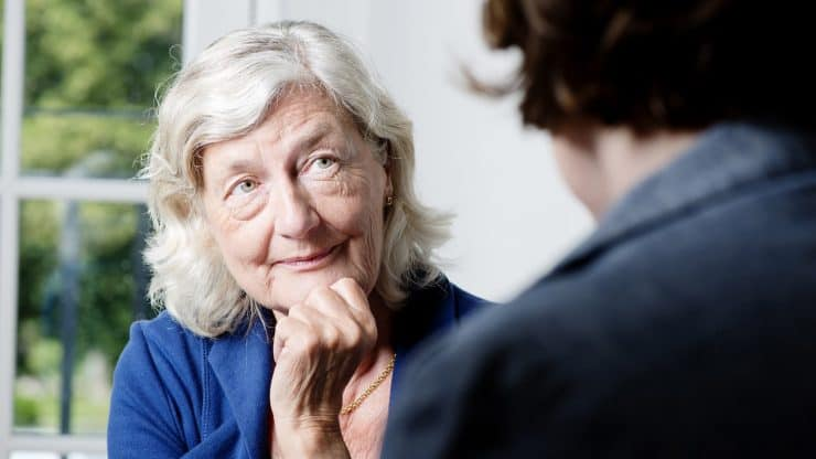 senior woman mental health