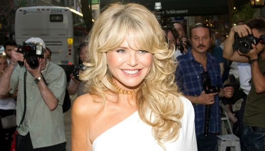 Christie Brinkley Loves Leather and Prosecco!