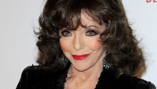 Joan Collins, 85, Looks Smoking Hot as She Heads Out for a Hot Date with Her Hubby