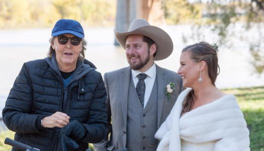 You'll Never Believe Who Photobombed This Canadian Couple's Wedding Photos