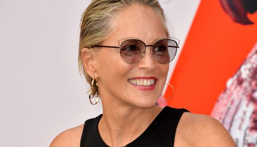 Sharon Stone is a Strong Single Mom with a Sexy Style!