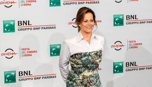Sigourney Weaver Gets Fashionably Creative