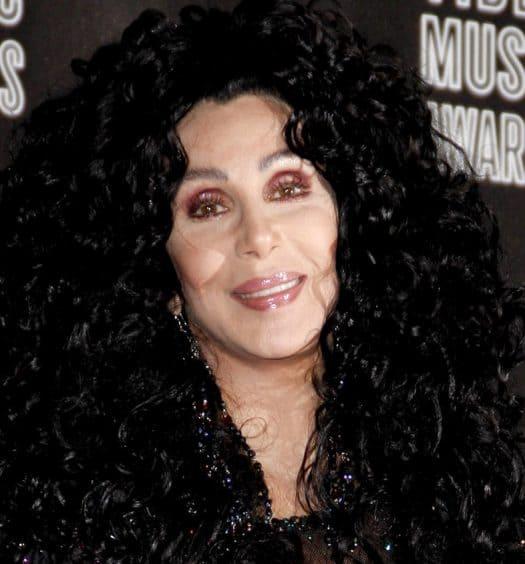 Cher and Cyndi Lauper