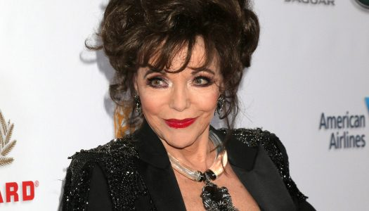 "Retirement? Joan Collins, 85, Says, ""No Way!"""