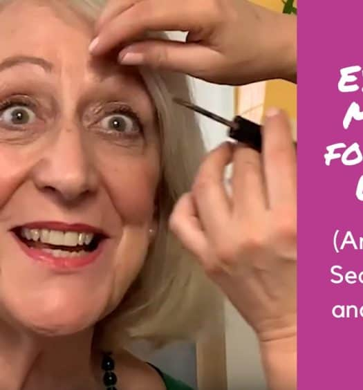 Eyebrow Makeup for Older Women Ariane Poole's Secret Weapon and a Surprise