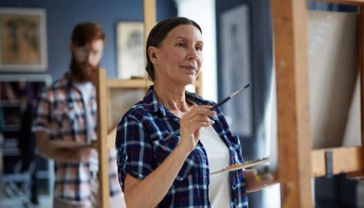 The Post-Menopausal Artist – Never Too Late to Start Doing Something You Love