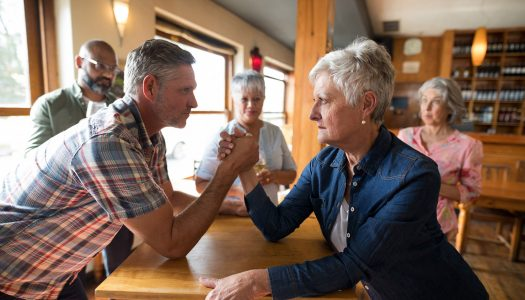 Put Down Your Swords, Ladies! Dating Over 60 Doesn't Have to Be a Battle