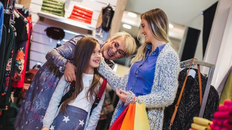 Teaching Style to Your Grandchildren: Fun Shopping with the Next Generation