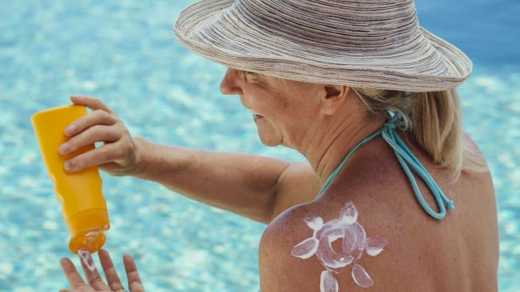 Mature Skin and Sunscreens Do the Benefits Top the Potential Damage