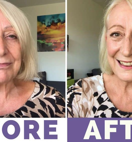 "Makeup for Mature Women: ""Less is More"" Summer Look and Tutorial"