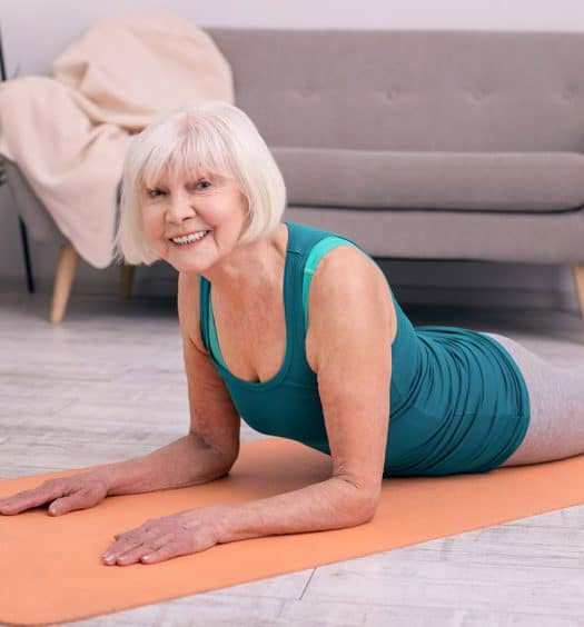 Get Moving Again! Yoga for Seniors Practice w Focus on Spinal Health