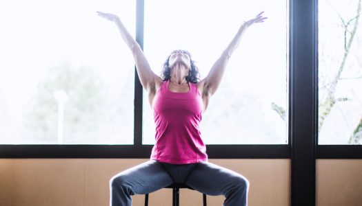 42-Minute Gentle Chair Yoga Practice for Beginners and Seniors (Special Focus on Joints!)