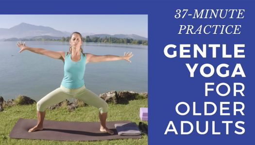 Full 37-Minute Gentle Yoga for Older Adults: Relax and Release the Tension in Your Body