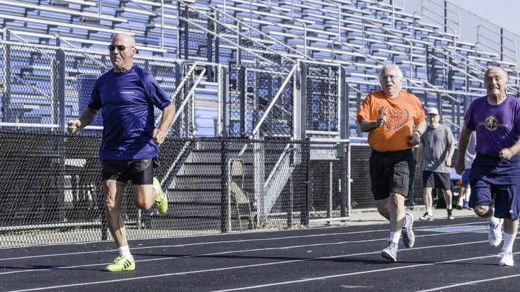 Centenarians Competing at the Senior Olympics