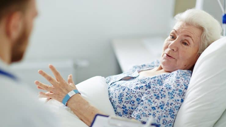 Older Adults and Hospital Stays Recovery