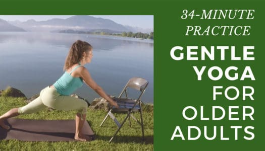 Wow! FREE Gentle Yoga for Seniors and Beginners: Open Up and See What Your Body Can Do