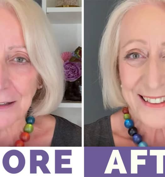 A Million Dollar Look with Dollar Store Makeup for Older Women