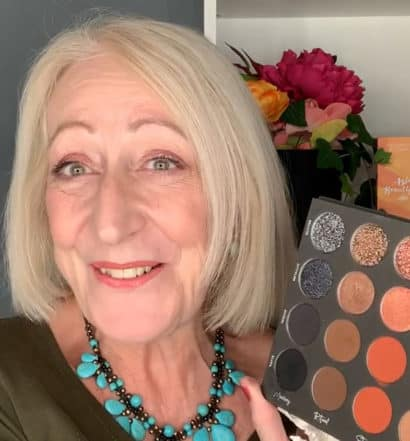Tati Beauty Eye Palette Makeup for Mature Women Tutorial and Review
