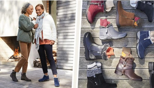 What 2 Words Describe Your Winter Shoe Style? Easy Spirit Has You Covered!