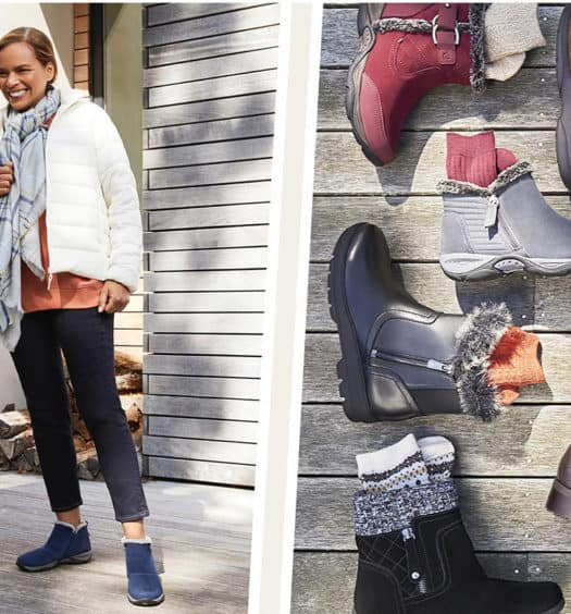 What 2 Words Describe Your Winter Shoe Style Easy Spirit Has You Covered!