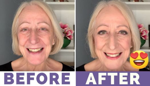 You Are Never Too Old To Wear a Smokey Eye (Video Tutorial)