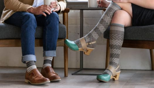 How Compression Socks Can (Fashionably) Improve Your Life After 50!