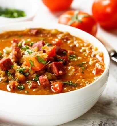My Super-Easy, Too-Good-to-Be-True, Immune-Boosting, Vegan, Gluten-Free, Comfort Food Lentil Stew