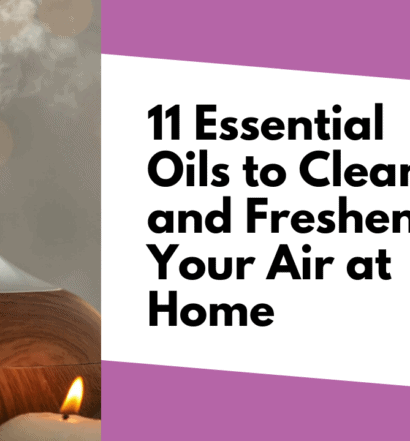 11 Essential Oils to Clean and Freshen Your Air at Home - Plus the Just Smell GREAT!