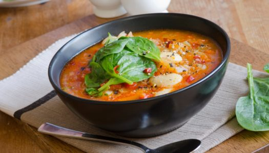 Tired of Beans? Try This Super-Easy, Yummy, Immune-Boosting, Gluten-Free, Vegan, Roasted Vegetable Soup