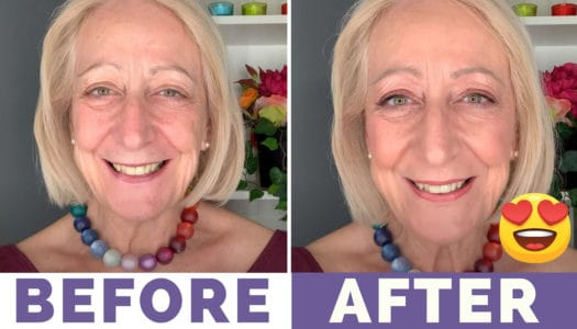 """My """"Believe Beauty"""" Affordable Makeup for Older Women Tutorial Will Cheer You Up!"""