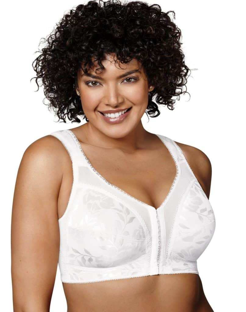 Playtex 18 Hour Front-Close Wirefree Bra with Flex Back